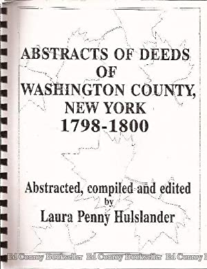 Abstracts of Deeds of Washington County, New: Hulslander, Laura Penny