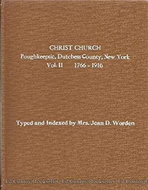 The Records of Christ Chuch Poughkeepsie, New: Worden, Mrs. Jean