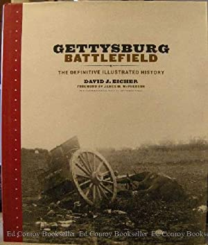 Gettysburg Battlefield The Definitive Illustrated History: Eicher, David J.