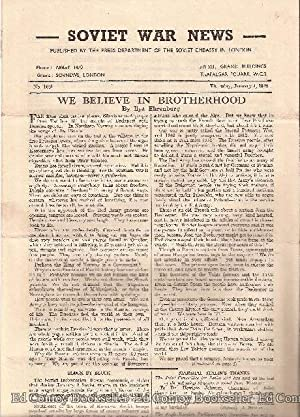 Soviet War News No. 1051 Thursday, January 4, 1945: Author Not Stated