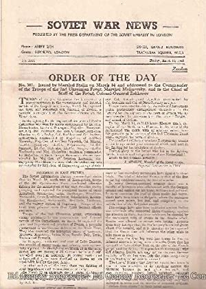 Soviet War News No. 1111 Friday, March 16, 1945: Author Not Stated