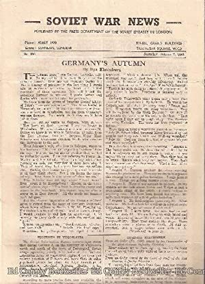 Soviet War News No. 980 Saturday, October 7, 1944: Author Not Stated