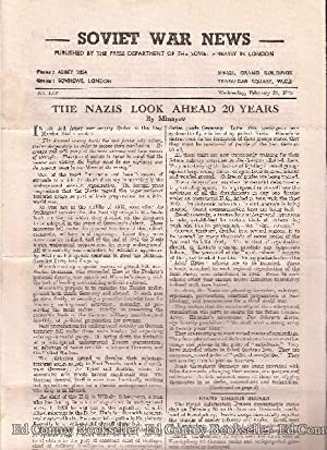 Soviet War News No. 1097 Wednesday, February 28, 1945: Author Not Stated