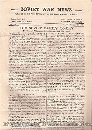 Soviet War News No. 1034 Tuesday, December 12, 1944: Author Not Stated