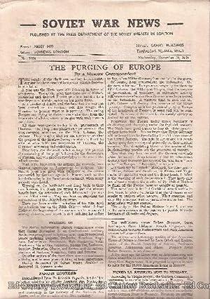 Soviet War News No. 1023 Wednesday, November 29, 1944: Author Not Stated