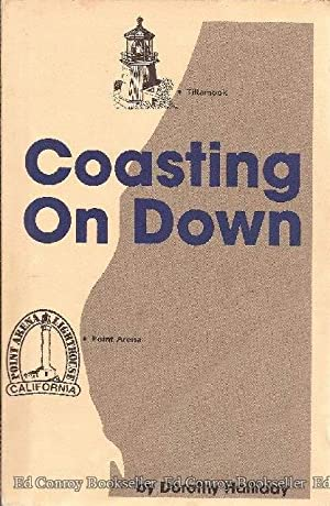 Coasting On Down: Halliday, Dorothy *Author SIGNED/INSCRIBED*