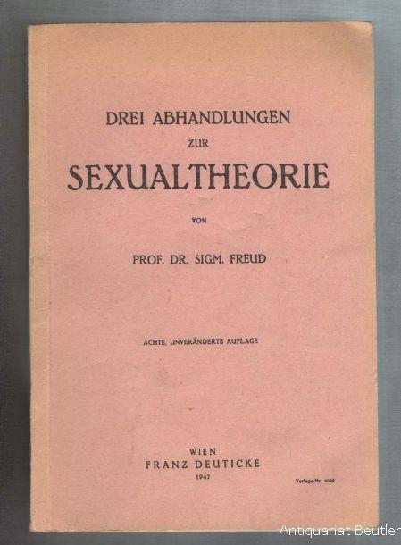 Freud drei abhandlungen zur sexualtheorie gesammelte werke