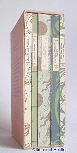 75 Jahre Insel-Bücherei 1912-1987.: Insel-Bücherei Nr. 1071, 1072, 1073, 1074 u. 1075 -