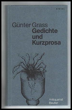 Studienausgabe, Band 11: Gedichte und Kurzprosa. Herausgegeben: Grass, Günter: