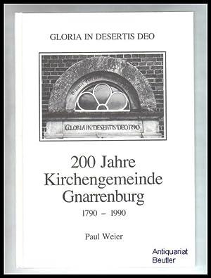 Die Geschichte der evang.-luth. Paulus-Kirchengemeinde Gnarrenburg 1790: Weier, Paul: