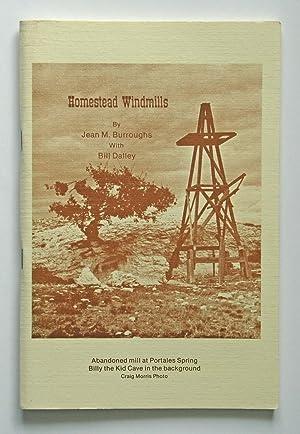 Homestead Windmills: Burroughs, Jean M.