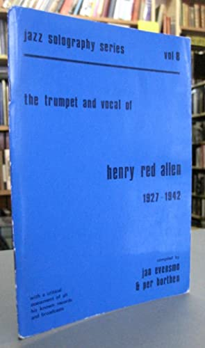 The Trumpet and Vocal of Henry Red: Evensmo, Jan; Borthen,