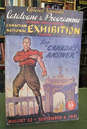 Official Souvenir Catalogue & Programme Including Sports Activities: Canadian National Exhibition...