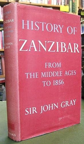 History of Zanzibar - from the Middle: Gray, Sir John