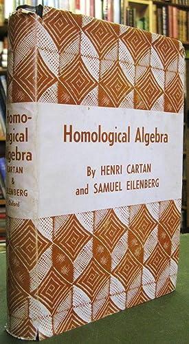 Homological Algebra: Cartan, Henri &