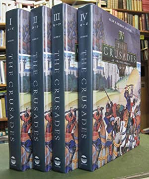 The Crusades - An Encyclopedia (complete 4 volume set)