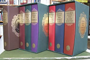 The Complete Novels of George Eliot - 7 volume set (Romola, Silas Marner, The Mill on the Floss, ...