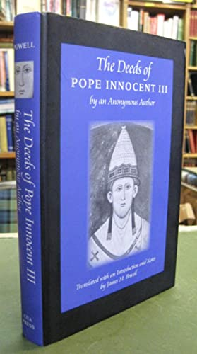 The Deeds of Pope Innocent III by an Anonymous Author