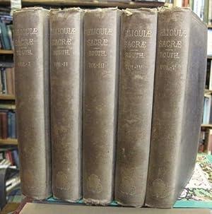 Reliquiae Sacrae: Sive, Auctorum Fere Jam Perditorum: Routh, Martinus Josephus