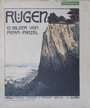 """Rügen. 10 Bilder von Herm. Hirzel., Reihe """"Teuerdank. Fahrten und Träume deutscher ..."""