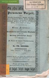 Preussens Vorzeit oder historische Unterhaltungen, Gemälde, Sagen aus der Vorzeit von Stä...