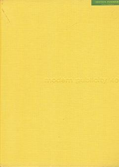 Modern Publicity 1970-71. Band 40. Dreisprachige Ausgabe: Gluck, Felix:
