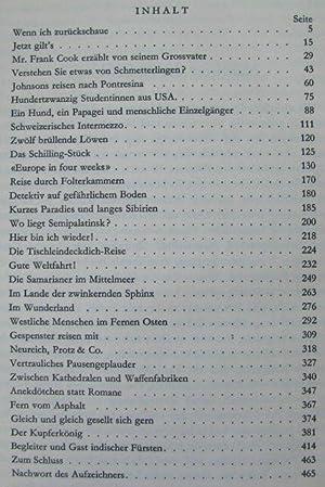 Grosse Welt und kleine Menschen Subtitle: Aufgezeichnet von Fredrich Witz: Fred Norbert Wagner