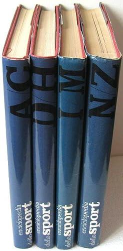 Enciclopedia dello sport (4 volumi)