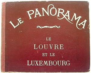 Le Panorama: Le Louvre et le Luxembourg