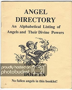 Angel Directory An Alphabetical Listing of Angels and Their Divine Powers