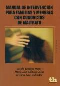 Manual de intervención para familias y menores: Josefa Sánchez Heras,