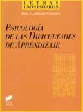 Psicología de las dificultades de aprendizaje.: Juan E. Jiménez