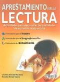 Aprestamiento para la lectura. Actividades para desarrollar: Lourdes Silva de