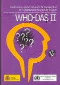 Cuestionario para la Evaluación de Discapacidad de la Organización Mundial de la ...