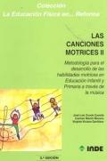 Las canciones motrices II. Metodología para el: José Luis Conde