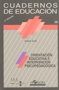 Orientación educativa e intervención psicopedagógica. Cuadernos de educaci&...