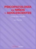 Psicopatología en niños y adolescentes. Desarrollos actuales.: José Buendía