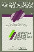 Diferencias sociales y desigualdades educativas. Cuadernos de educación 25.: Anna Escofet, ...