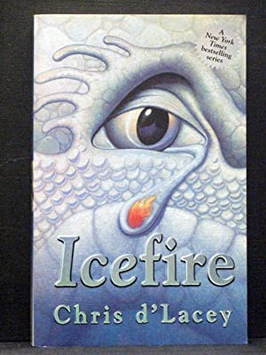 Icefire second book in Last Dragon Chronicles series
