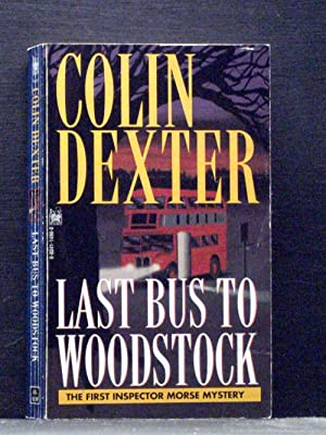 Last Bus to Woodstock first book Inspector Morse