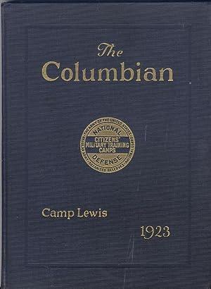 The Columbian, Ninth Corps Area, Camp Lewis Washington 1923: Donaldson George C.