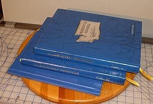 Washington Pioneers, 3 Volumes: Washington State Genealogical Society
