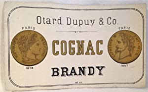 Liquor] Otard, Dupuy & Co. Cognac Brandy