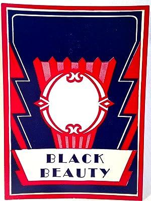 Liquor Label] Black Beauty