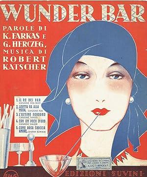 SHEET MUSIC] Wunder Bar Come rosa sboccia: Dr. Robert Katscher