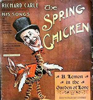 [SHEET MUSIC] The Spring Chicken A Lemon in the Garden of Love