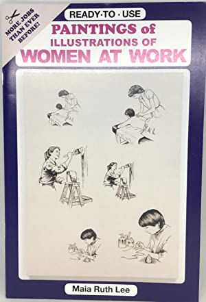 [WOMEN] [ART] Paintings of Illustrations of WOMEN AT WORK READY - TO - USE