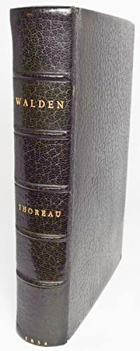 WALDEN; Or, Life in the Woods: Thoreau, Henry D[avid]