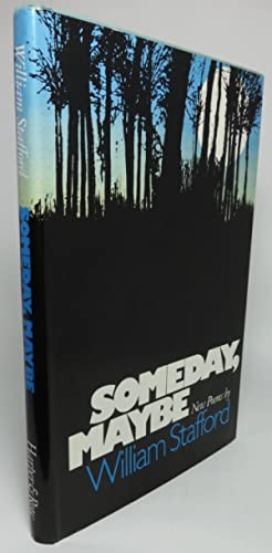 SOMEDAY, MAYBE. [Subtitle on dust jacket: