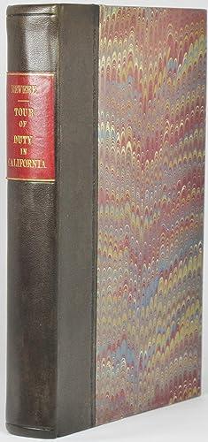 A TOUR OF DUTY IN CALIFORNIA; INCLUDING: Revere, Joseph Warren;